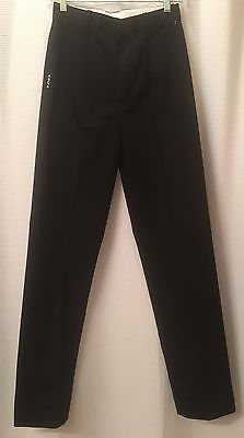 Vintage Girl's Dress Pants Made By Becky Thatcher Size 16 Black NWT$