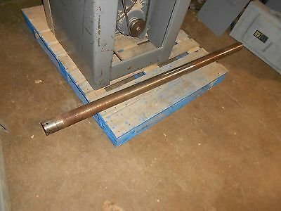"15"" Drill Press Floor Model Column 2 3/4"" Diameter 62"" Long"