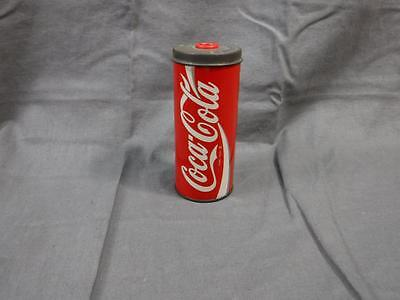 Rare Vintage 1992 metal COCA COLA Pencil Sharpener 5 inch tall