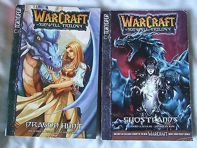 Warcraft: The Sunwell Trilogy Books # 1 & 3. Tokyopop