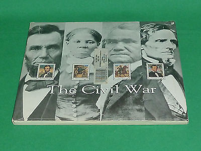 Time Life Book USPS Civil War 1861-1865 Collection US Commemorative Stamps 1995