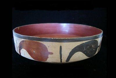 Ancient Nazca Bowl Pre-Columbian : Antiquities