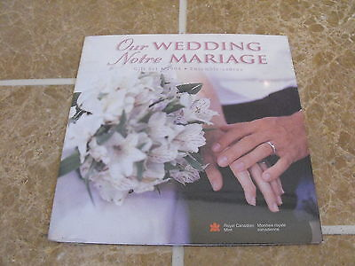 Canada 2004 Wedding Gift Set - 7 Coins