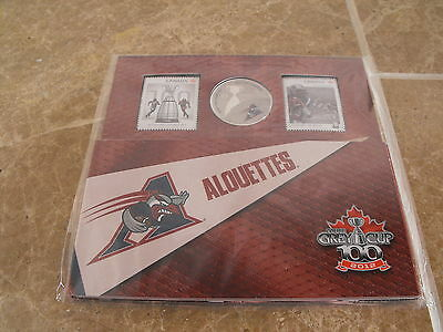 Canada 2012 Football Set - NEW - Montreal Alouettes - Royal Canadian Mint