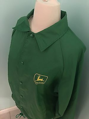 Vintage John Deere Wind Breaker Medium