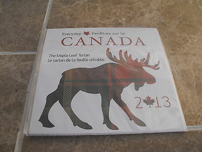 Canada 2013 Tartan Set - New - 50 cents 2013