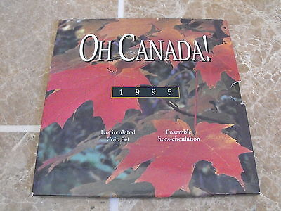 Oh Canada 1995 Gift Set - 6 Coins - Peacekeeping Dollar