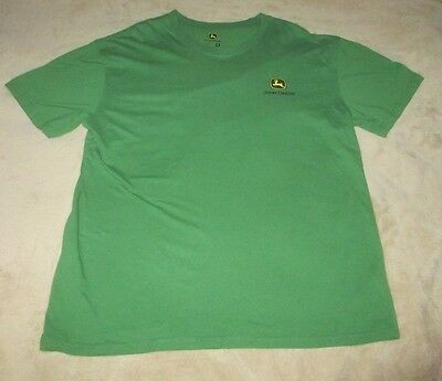 "Official John Deere T-Shirt Men's Xl ""nothing Runs Like A Deere"" Farming"