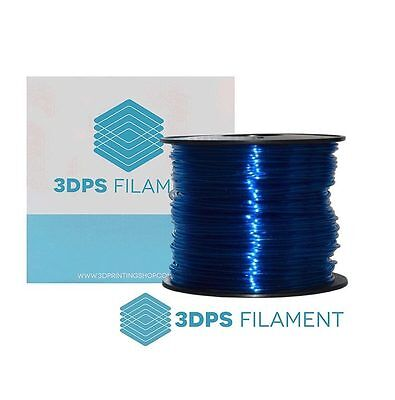 NEW 3DPS Trial 0.25KG Glass Blue PC - Polycarbonate 1.75mm 3D Printer filament