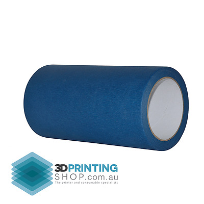 NEW Heat Resistant Blue tape - 200mm Extra wide!