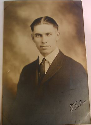 Vintage Photo of Handsome Young Man Dream Eyes Gay 4 X 6