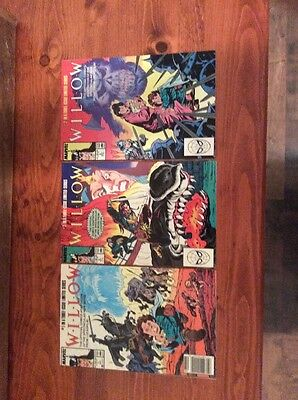 Willow Marvel Comics Set/Run  #1-3 (lot of 3) Limited Series