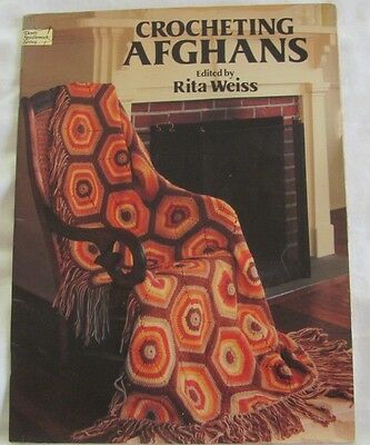 Retro 1979 Crocheting Afghans Edited by Rita Weiss, Dover Needlework Series
