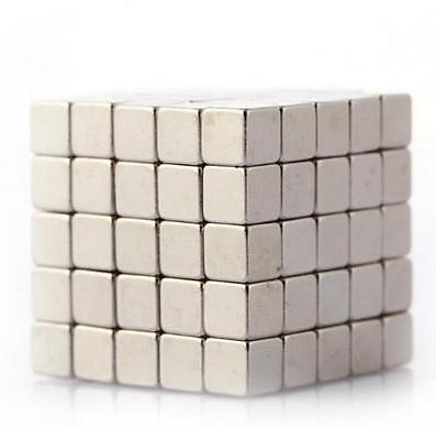 Lot of 500 200 100 5*5*5mm block Cubes rare earth neodymium super magnets N48