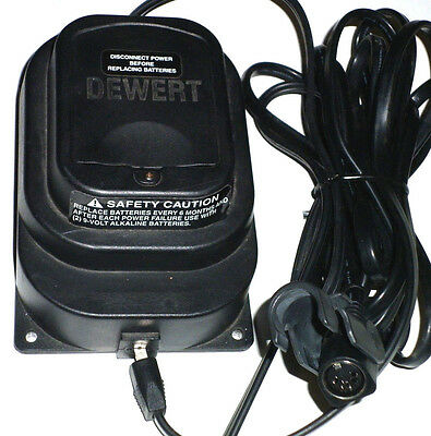 DEWERT type 990.003.012 (ED25567) 24V 3.33A Power adapter for Pride Lift chair