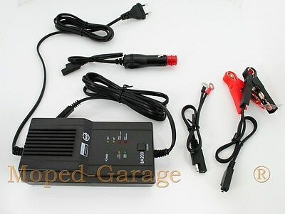 Moto Scooter Chargeur de Batterie Diagnostic Fonction 6 et 12 Volts Automatique
