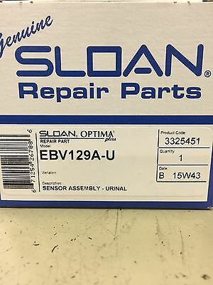 New SLOAN EBV129A-U  Optima Plus Electronic Module Valve For G2 URINAL 129A U