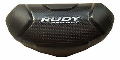 NEW Rudy Project Hard Plastic Black Clamshell Sunglass Case with Storage Pouch