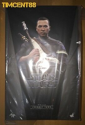 Ready! Hot Toys MMS403 Rogue One A Star Wars Chirrut Îmwe Imwe Donnie Yen Deluxe