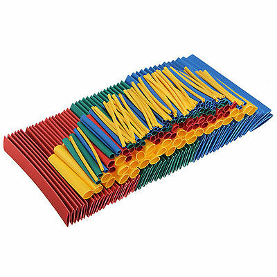 260pcs Heat Shrink Tube Assortment Sleeving Wire Cable Insulation Tubing 8 Sizes