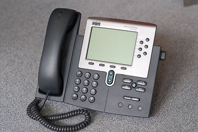 Cisco 7940 Unified IP Phone CP-7940G VoIP Device Business Phone Handset PoE