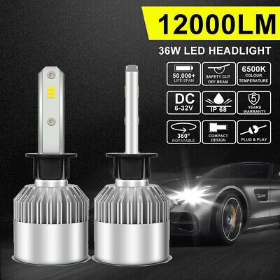 H4 252W 25200LM Philips LED Headlight Kit Bulbs HIGH LOW Beam Replace Halogen AU