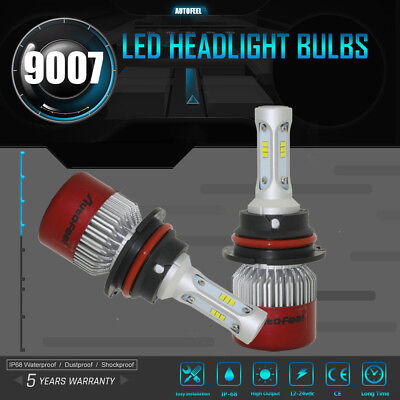 CREE LED Car Headlight H8 H9 H11 252W 25200LM Bulbs 6500K Upgrade Conversion Kit