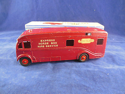 Vintage Dinky Toys 981 British Railways Horsebox Original with Box