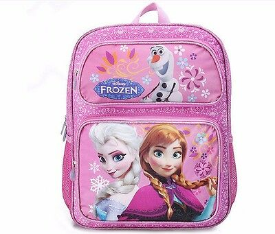 New Large Children School Bag Kids Backpack Girls Disney Frozen Elsa Anna