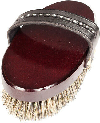 Horze Delux Classic Body Brush - Horse Grooming Brushes