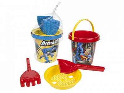 Kids DC Comics Batman or Superman Bucket and Spade Set