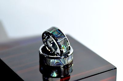 Unique Tungsten  Engagement Wedding Ring Made in USA