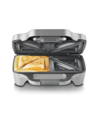 NEW Sunbeam Big Fill Toastie For 2 SANDWICH PRESS GR6250