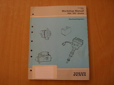 Volvo Penta MD Models 3.0 4.3 GL GS 5.0 5.8 FL Fi 5.7 7.4 8,2 GL Gi Shop manual