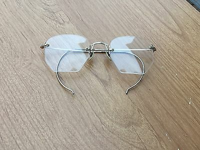 12K GF gold eye glasses spectacle metal frame