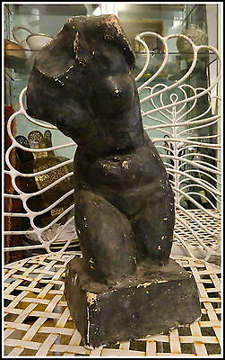 Historic Sculpture of Female Form after the Antique-Sylvia Warman-1960s