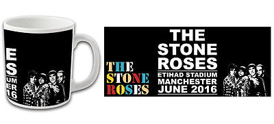 The Stone Roses Ethiad Stadium 2016 Gigs Souvenir Mug Bargain Price