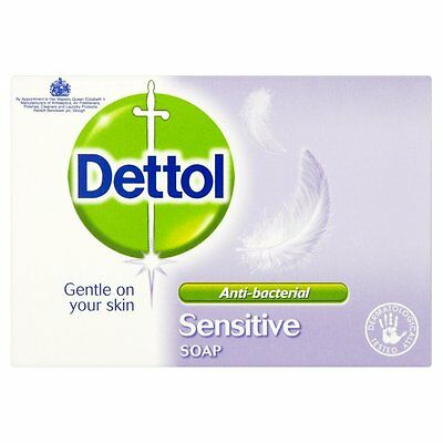 Dettol Antibacterial Sensitive Bar Soap 100g