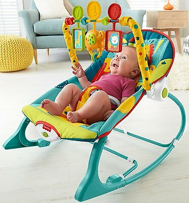 Inclined Sleeper and Playtime Seat Infant To Toddler Fisher-Price Bouncer Baby