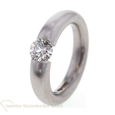 Niessing Spannring Solitaire-Ring