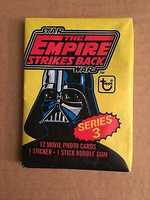 Topps Star Wars EMPIRE STRIKES BACK Wax Pack, Series 3, Unopened