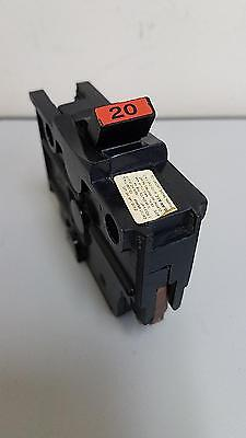 FPE 20 Amp 1-Pole Stab-Lok,Type NA120,Thick,Federal Pacific Breaker,Fast Ship