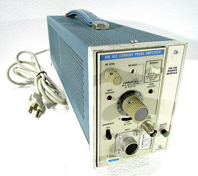 * Tektronix Am 503 Current Probe Amplifier