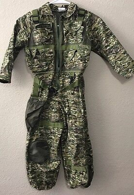 Full Body Camo Suit Boys size 5/6 Unisex. Special Forces