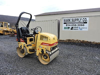Dynapac CC1000 Smooth Drum Vibratory Roller Perkins Diesel Ride On Compactor !!!