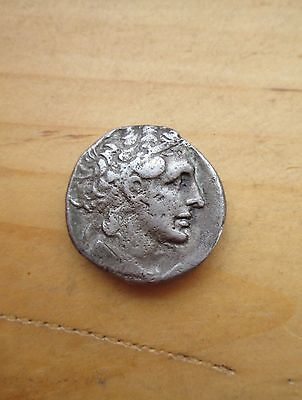 AUTHENTIC Greek Ptolemy I Ptolemaic 305 B.C Silver Coin TETRADRACHM Egypt KING