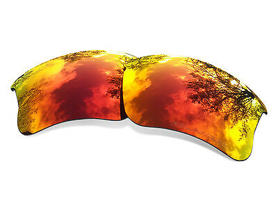 Sure Polarized Red Replacement Lenses for Oakley Half Jacket 2.0