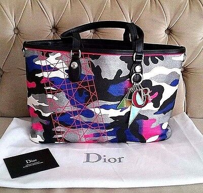 AUTHENTIC CHRISTIAN DIOR ANSELM REYLE FOR DIOR Collection Tote Bag ... c4531f5349196