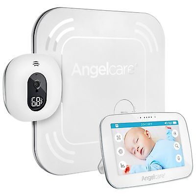 Angelcare Baby Movement Monitor AC 517 with 5 Touchscreen Display and Wireless