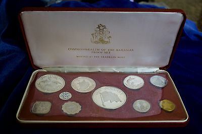 1975 Commonwealth of the Bahamas 9-Coin Proof Set